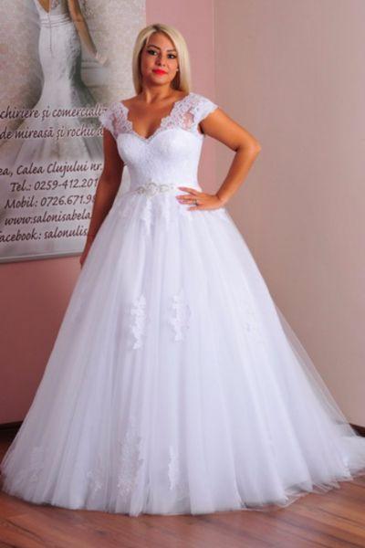 Rochie de mireasa Julia alb